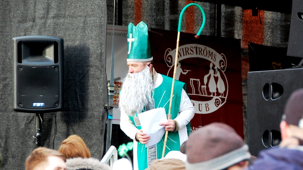 St Patrick himself ... eller?