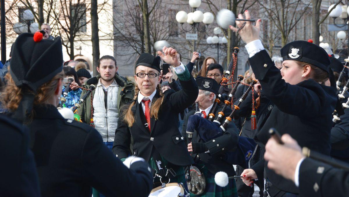 St Patricks day trummor