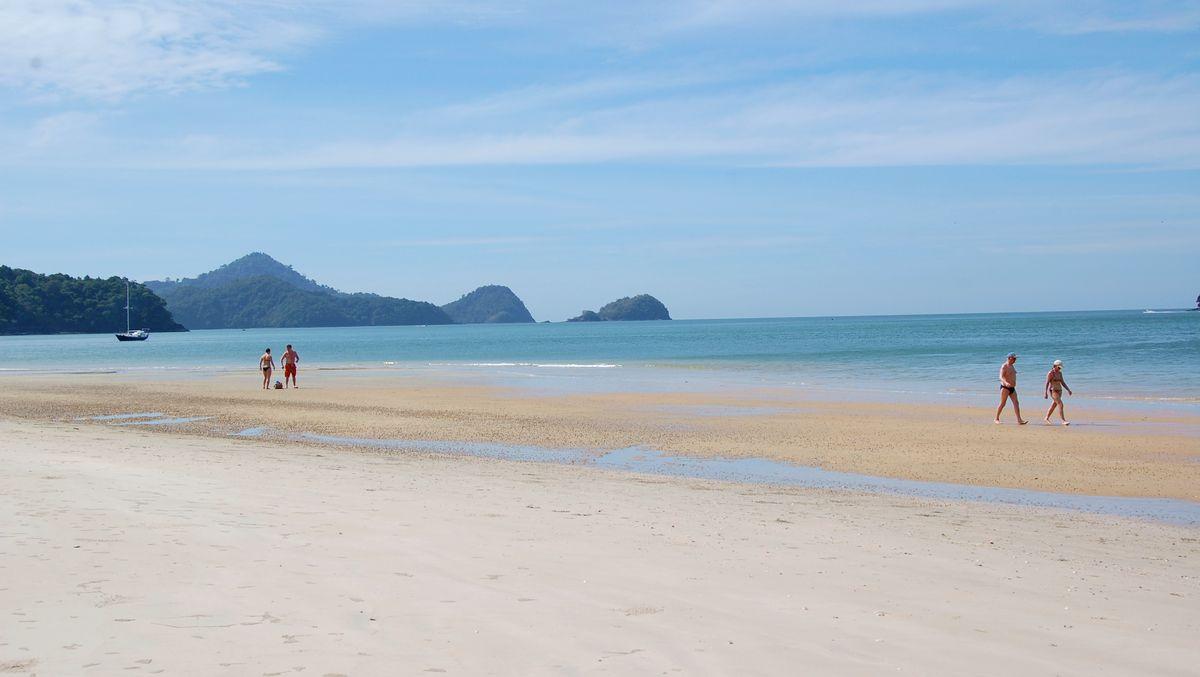Strand Langkawi - semester i Asien