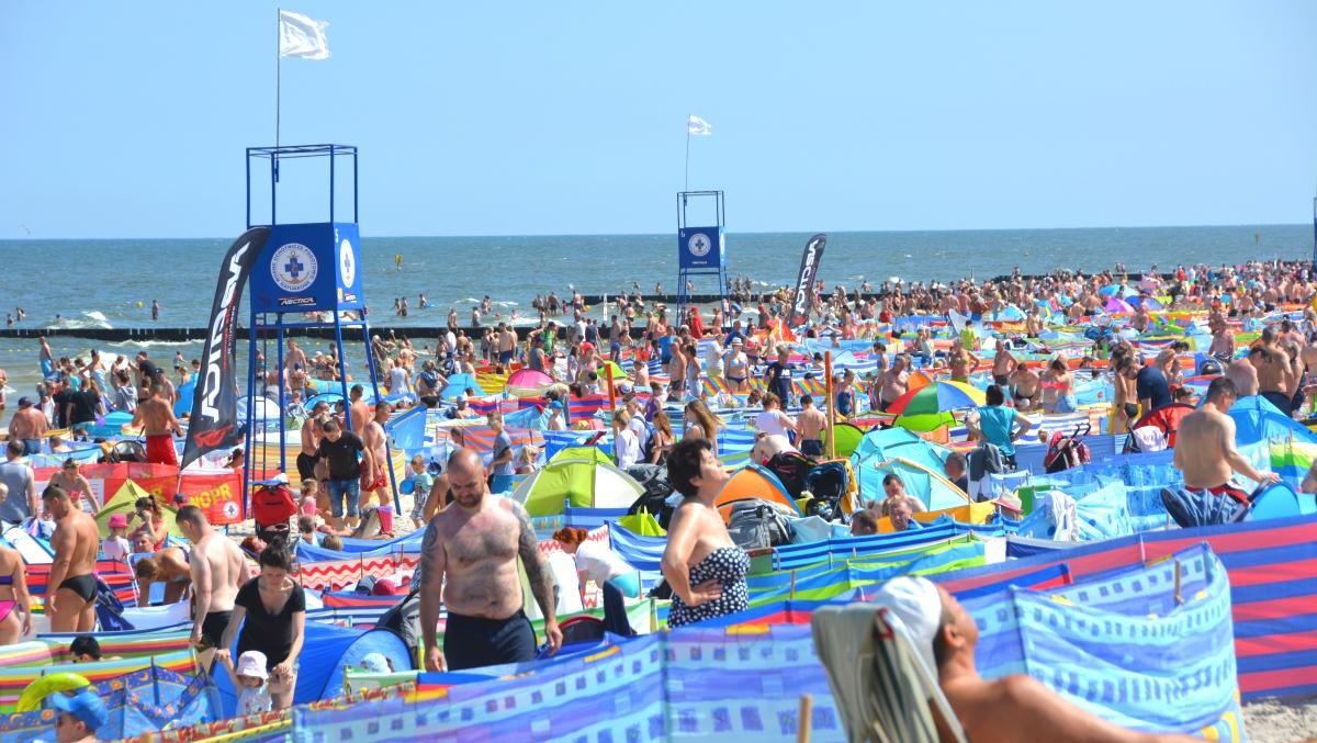 Strandtält Polen