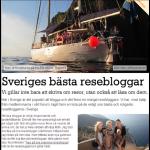 Sveriges bästa resebloggar