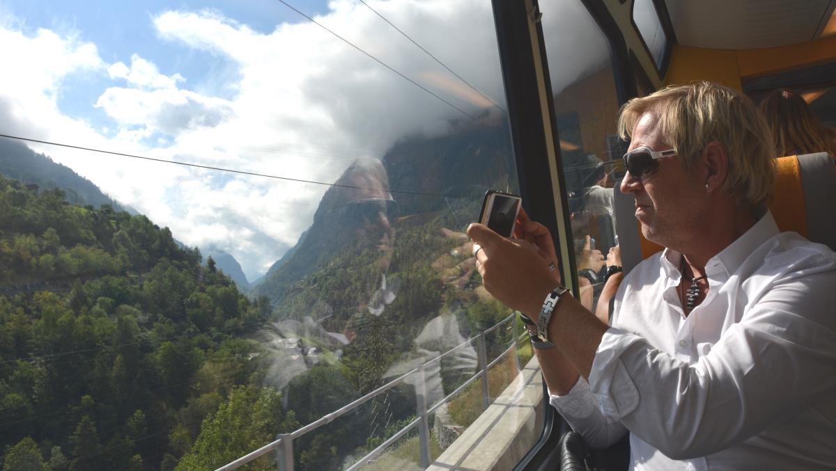 Tåg till Zermatt