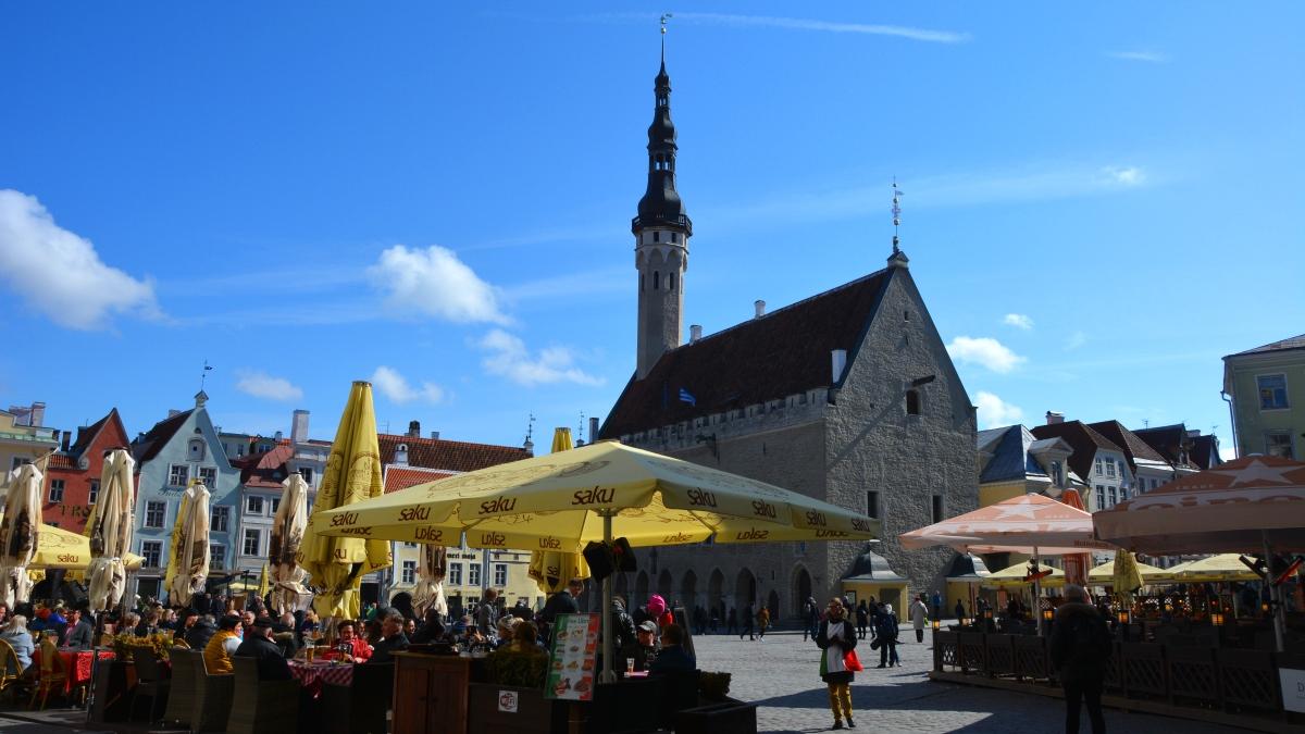 Tallinn rådhustorget