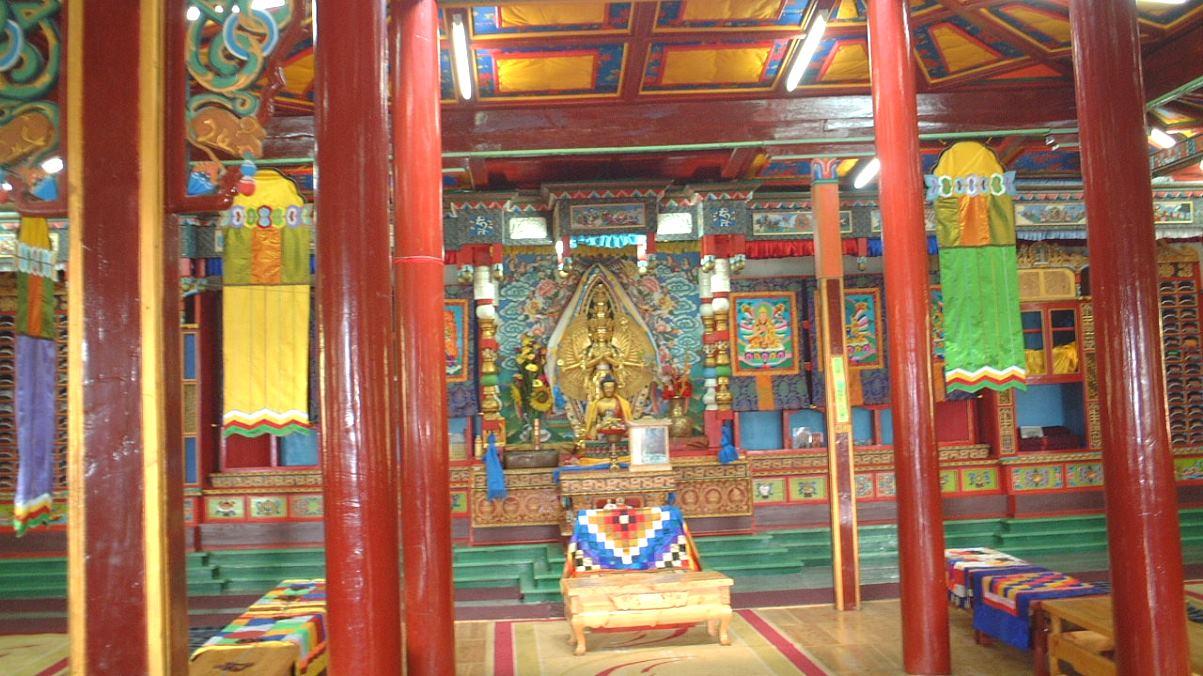 Tempel Mongoliet