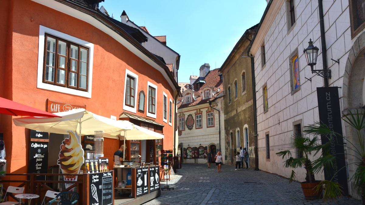 Tjeckien Český Krumlov