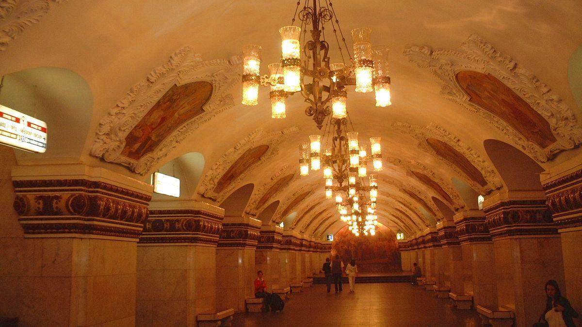 Tunnelbana Moskva