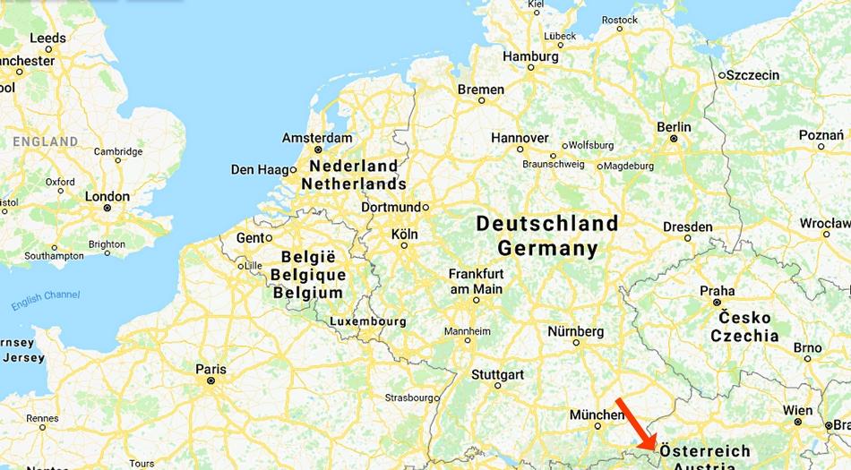 Tyskland, Örnnästet