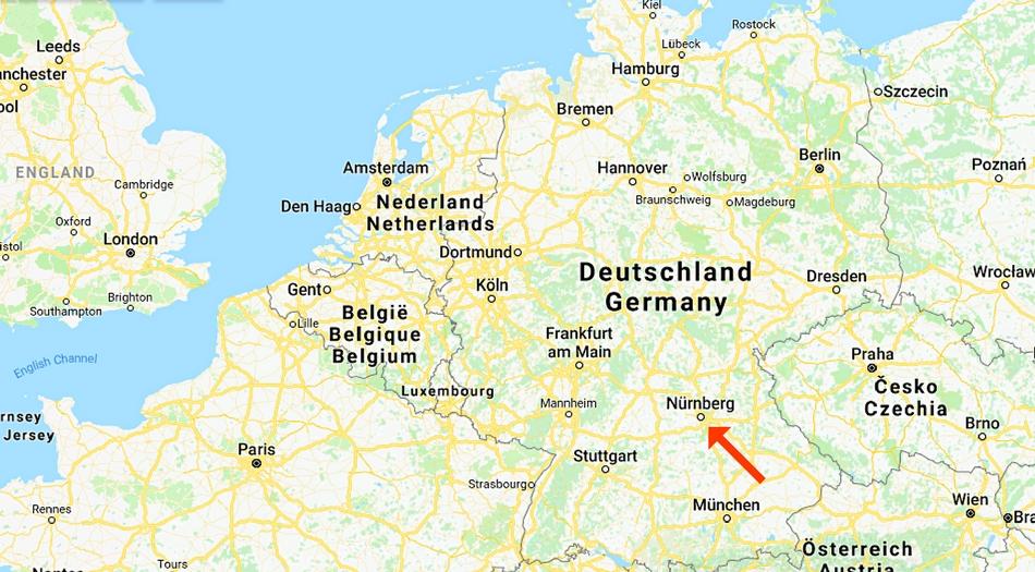 Tyskland, Nurnberg