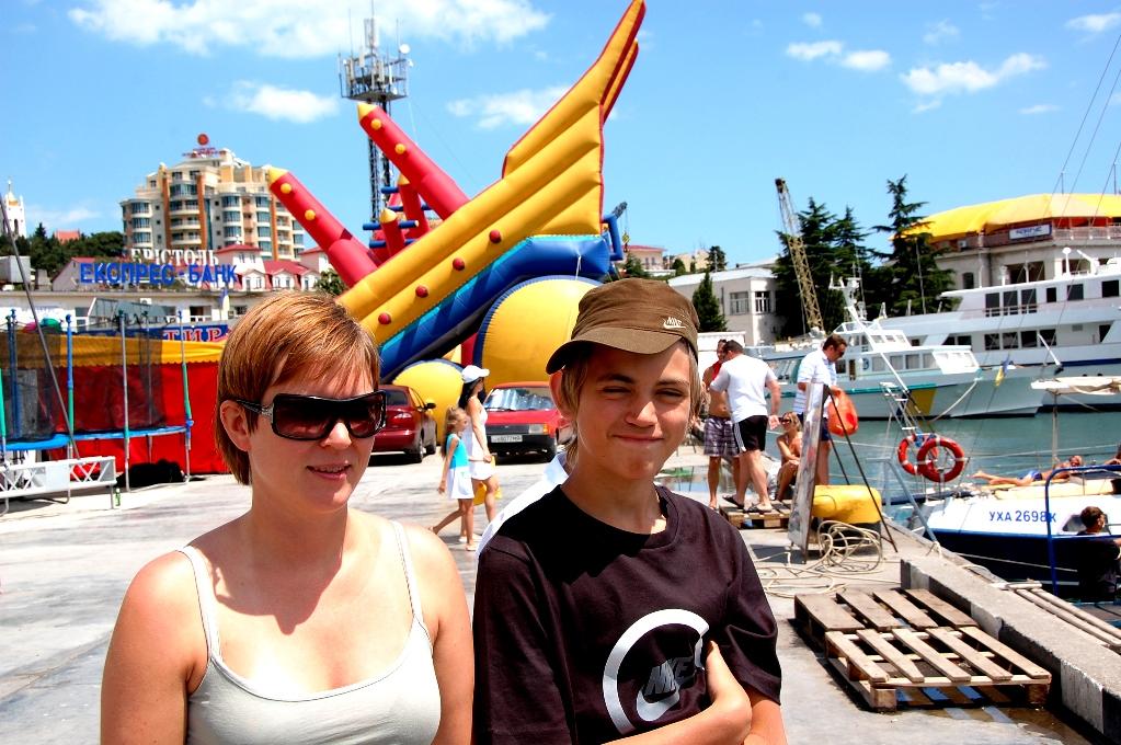 Helena och Billie i Jalta