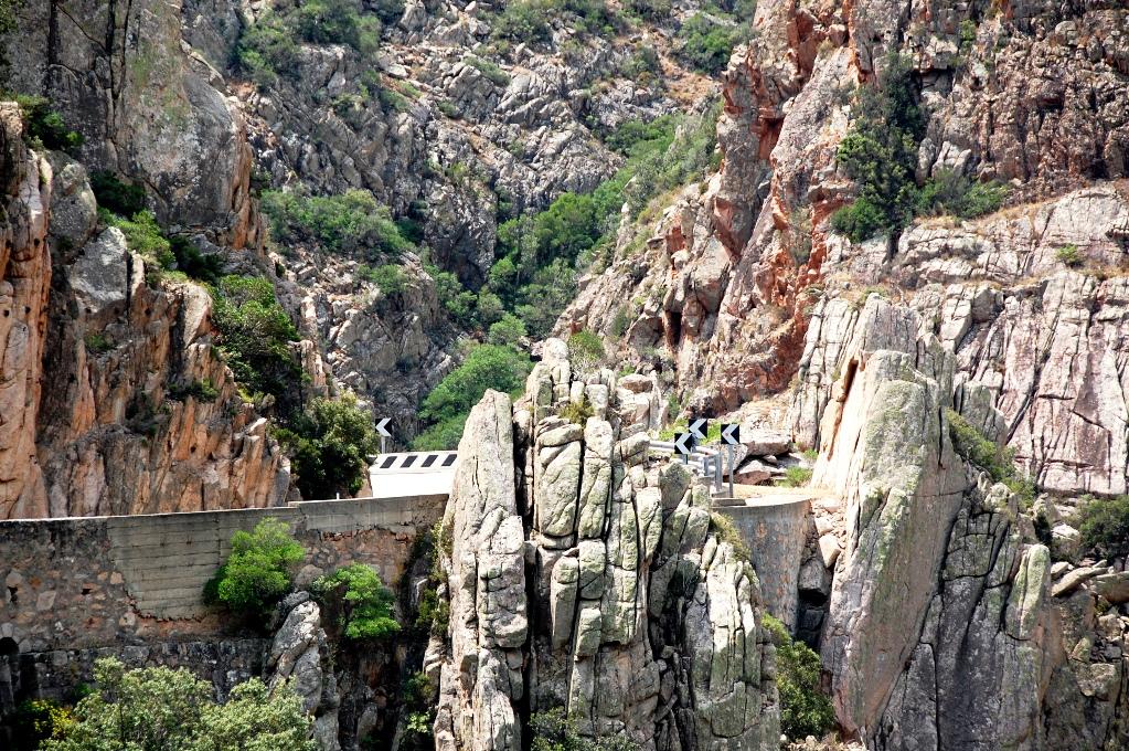"""Vägen från Cagliari till Costa del Rei var """"lite"""" bergig"""