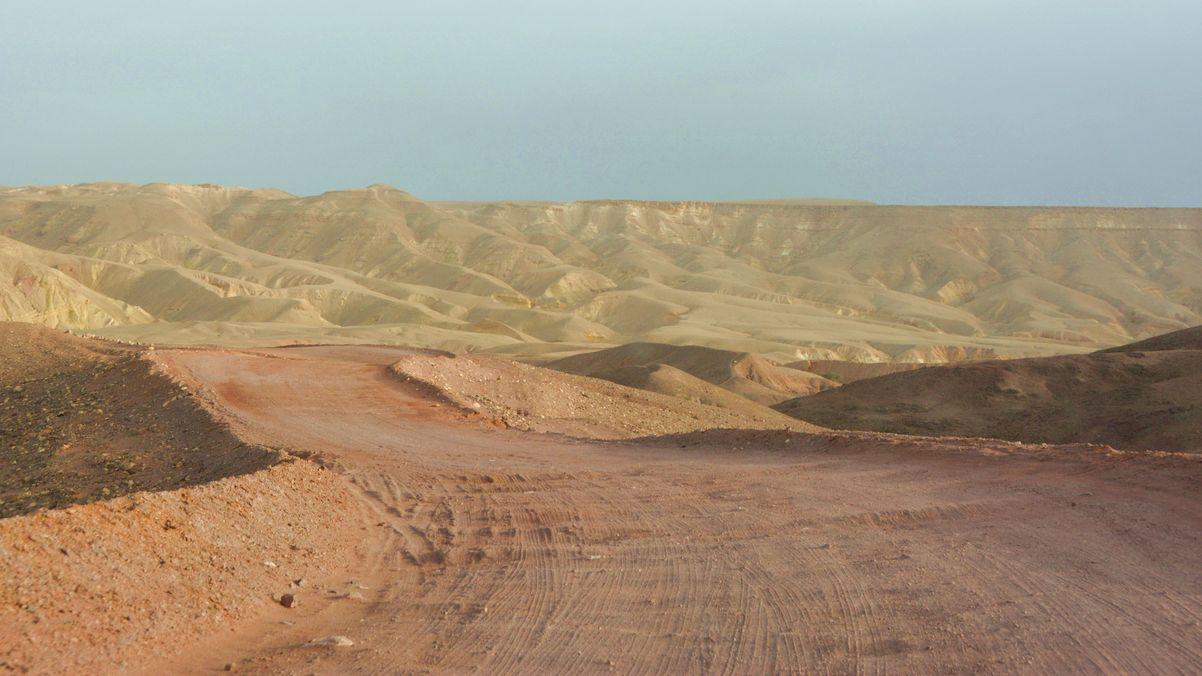 Väg till Red Canyon