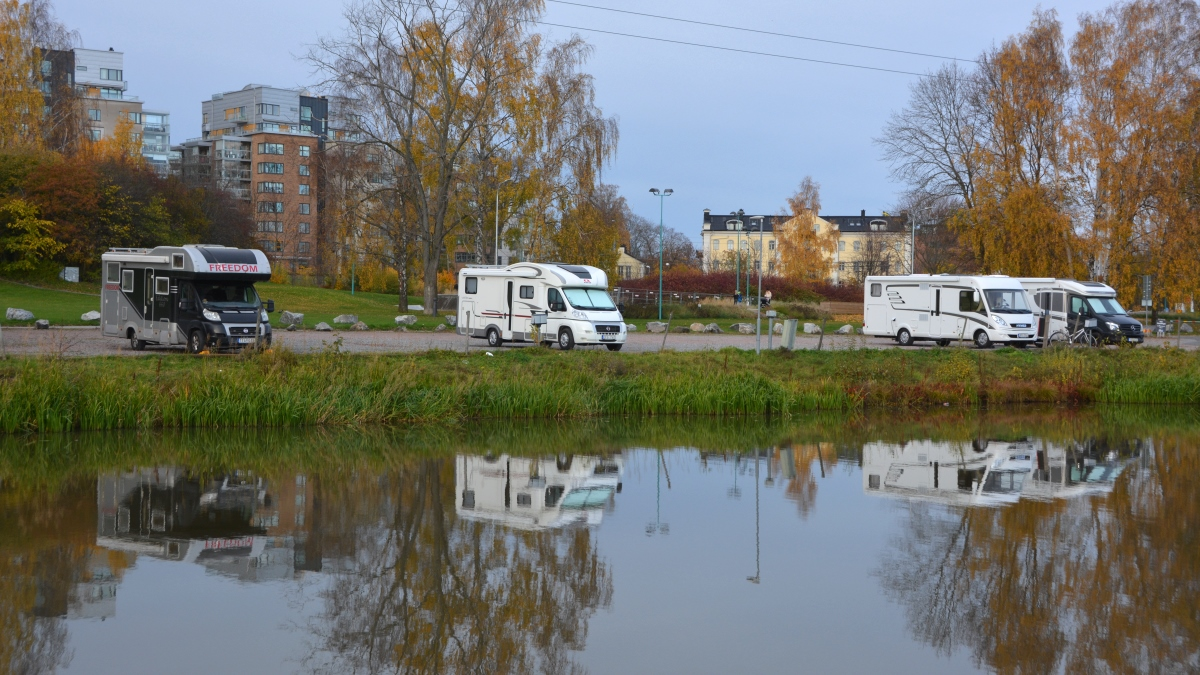 Ställplats i Västerås gästhamn