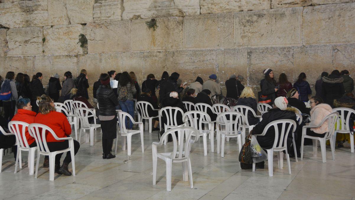 Västra muren kvinnor