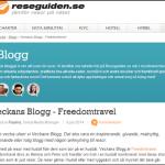 Veckans Blogg på Reseguiden