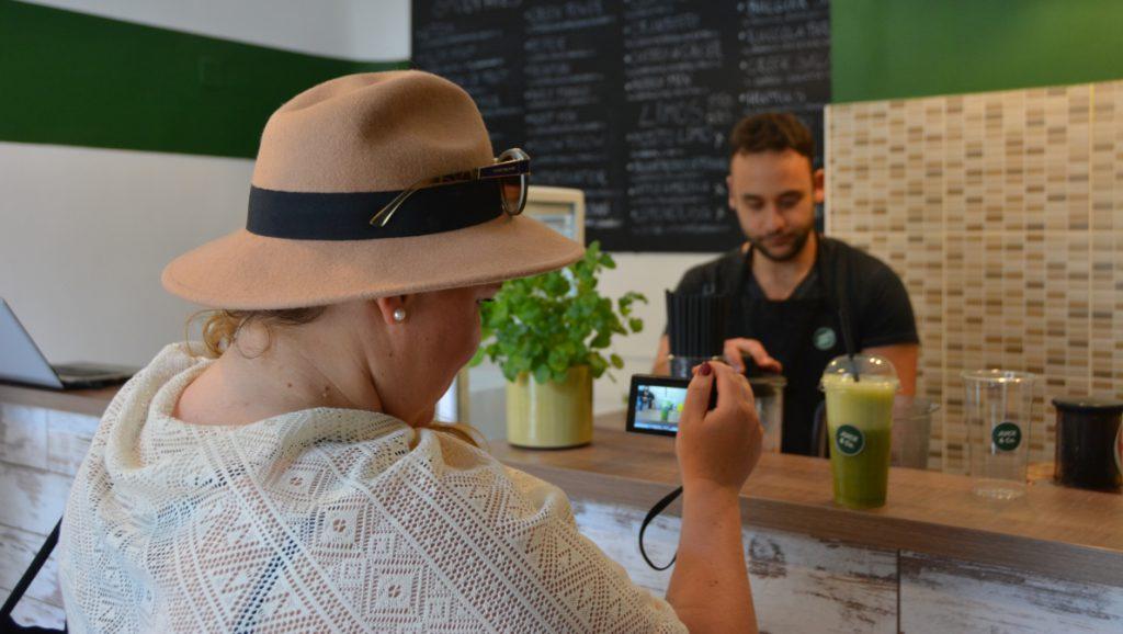 Juicebarexperten Veera dokumenterar på Juice & Co i Pécs