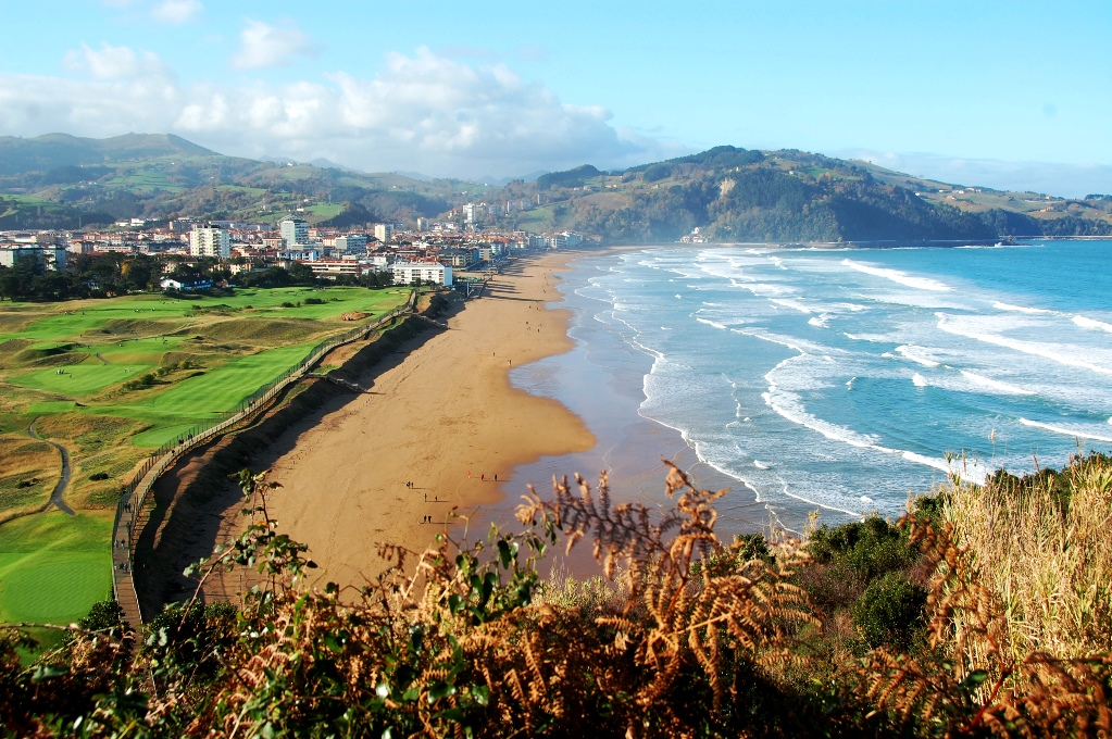 Zarautz Spanien