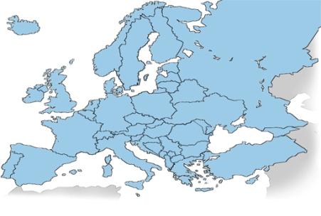 europa länder spel