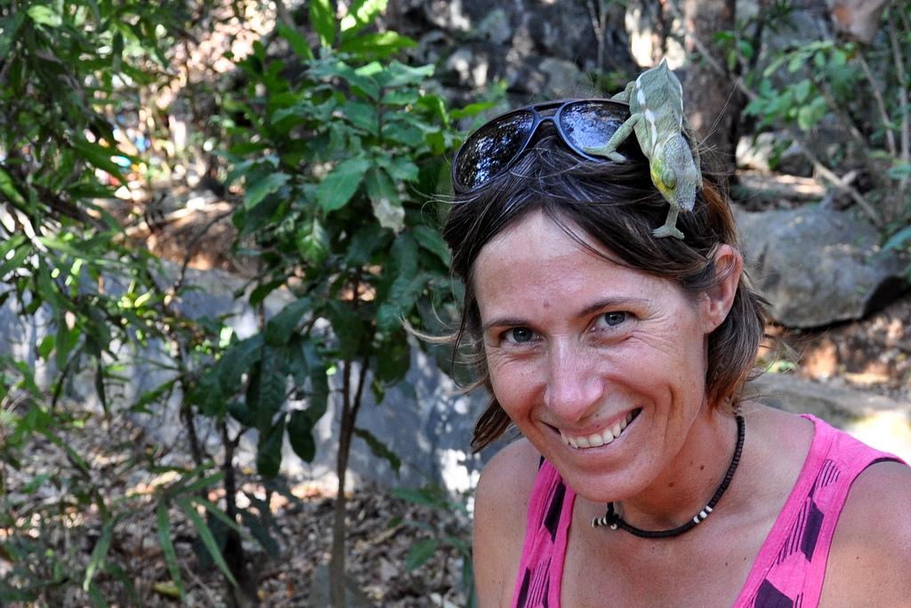 Linda Hammarberg på Madagaskar