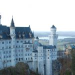 Sagoslottet Neuschwanstein i Bayern