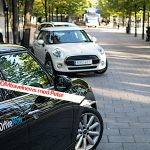 Hämta bil på stan – DriveNow