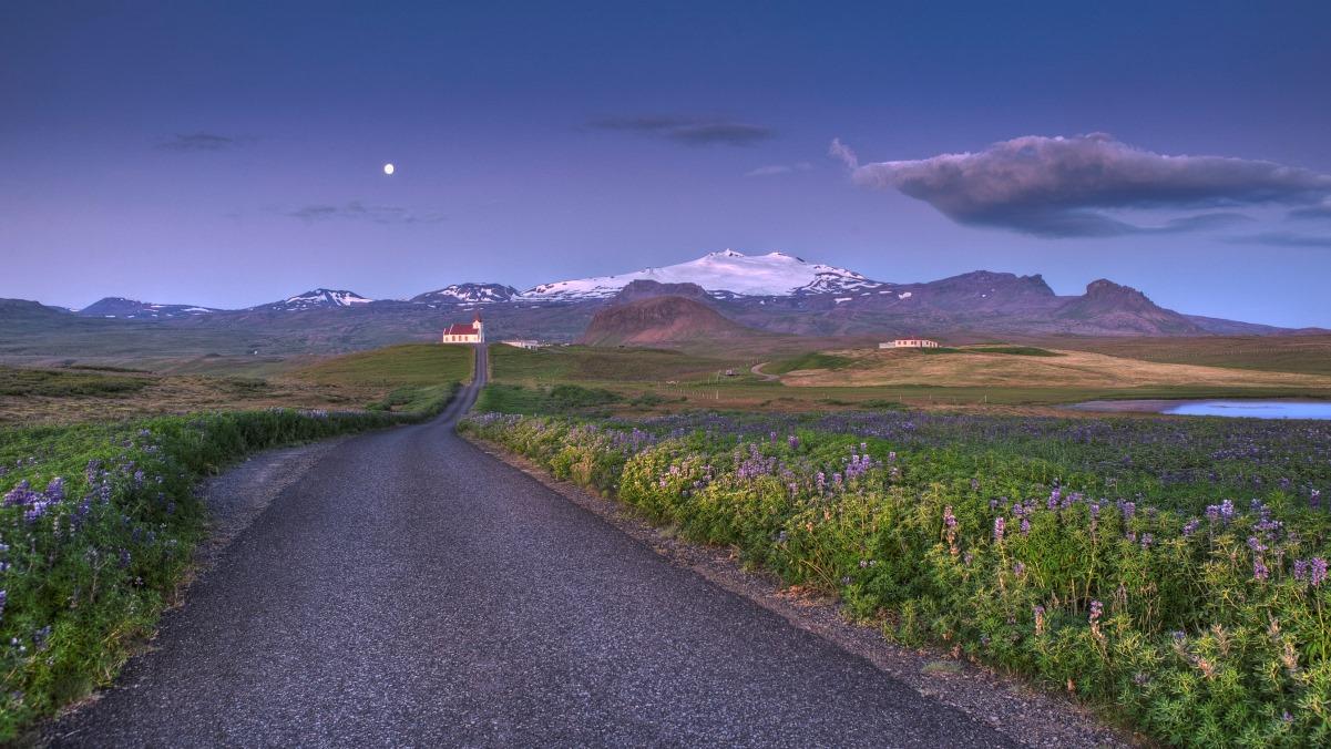 Resa med husbil på Island