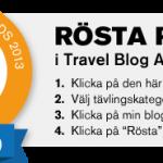 Nominerade till Bästa Reseblogg