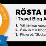 Nominera vår blogg!