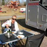 Ängsö camping i Västerås