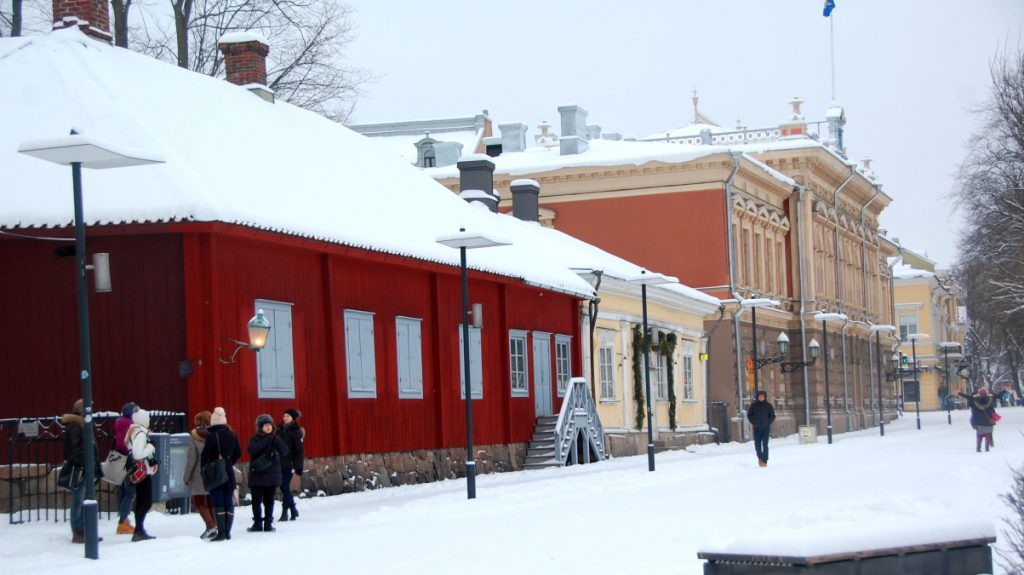 Resa till Finland och Åbo