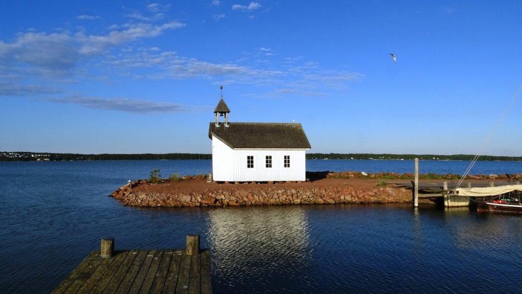 Camping på Åland