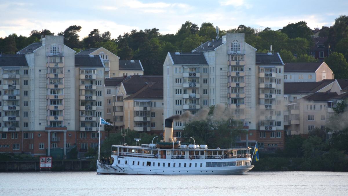 Ångbåt Stockholm