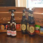 Ölprovning med tysk och belgisk öl