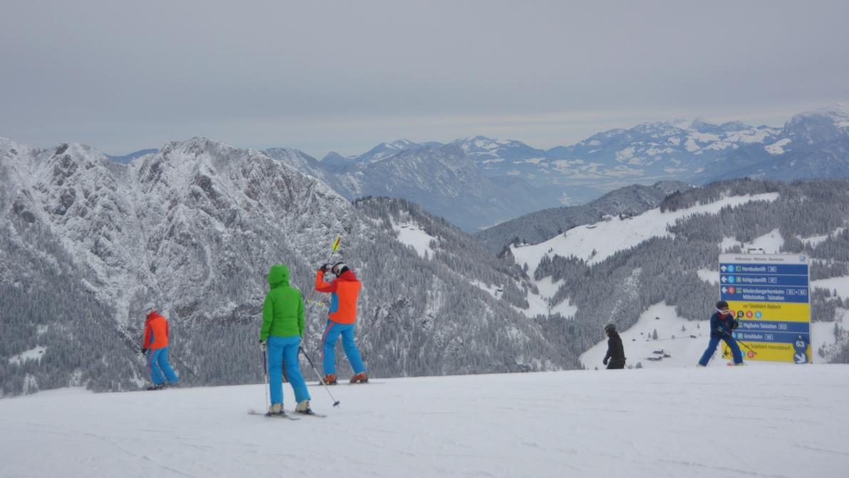 Alpbachtal i Österrike