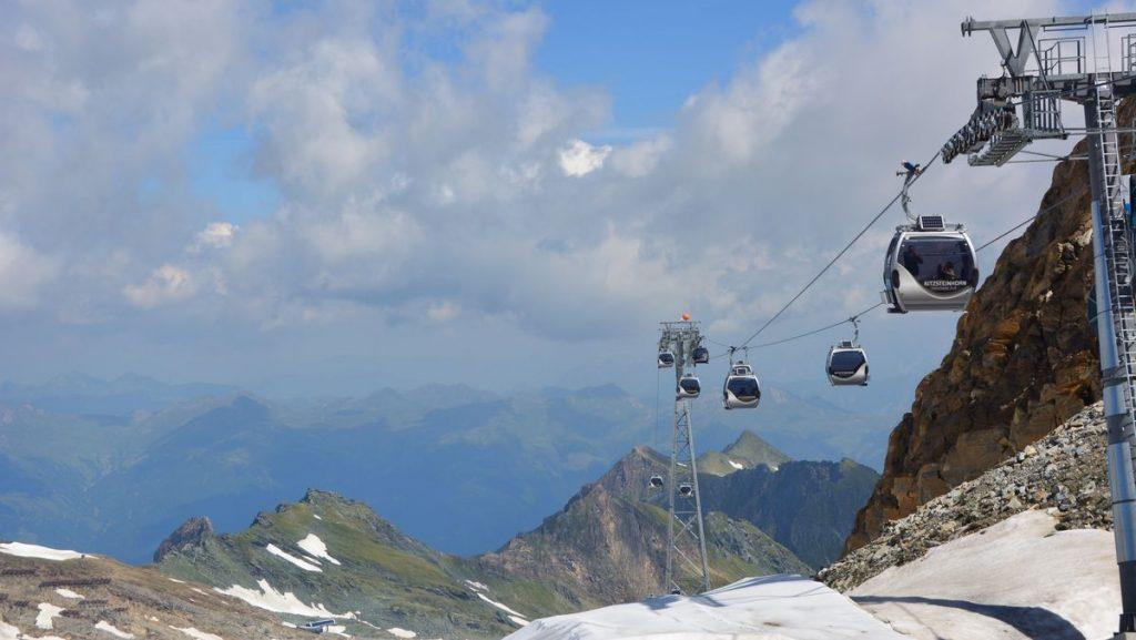 Österrike linbana kitzsteinhorn