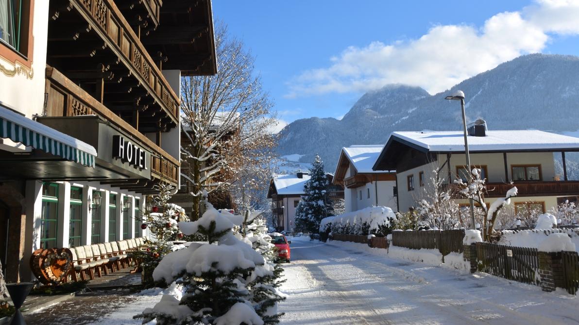 Mysig alpby i Österrike