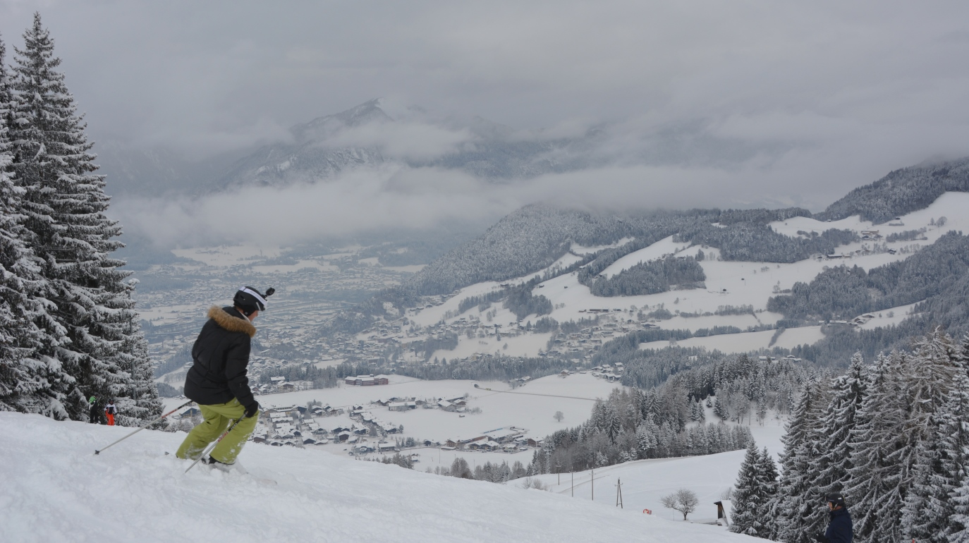 Skidsemester i Österrike