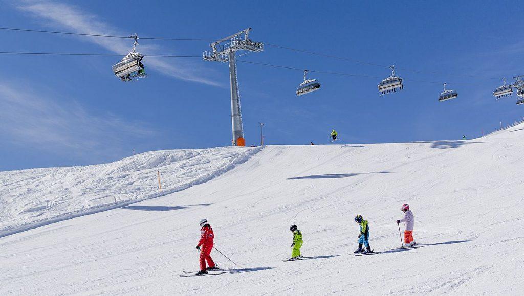 Åka skidor i Österrike