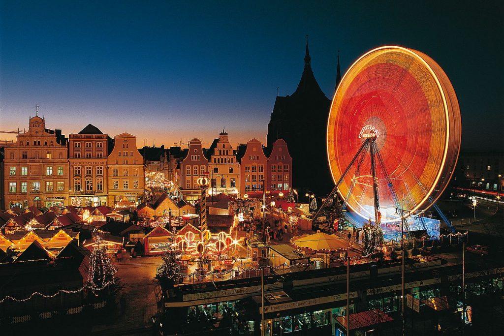 Julmarknad i Mecklenburg-Vorpommern