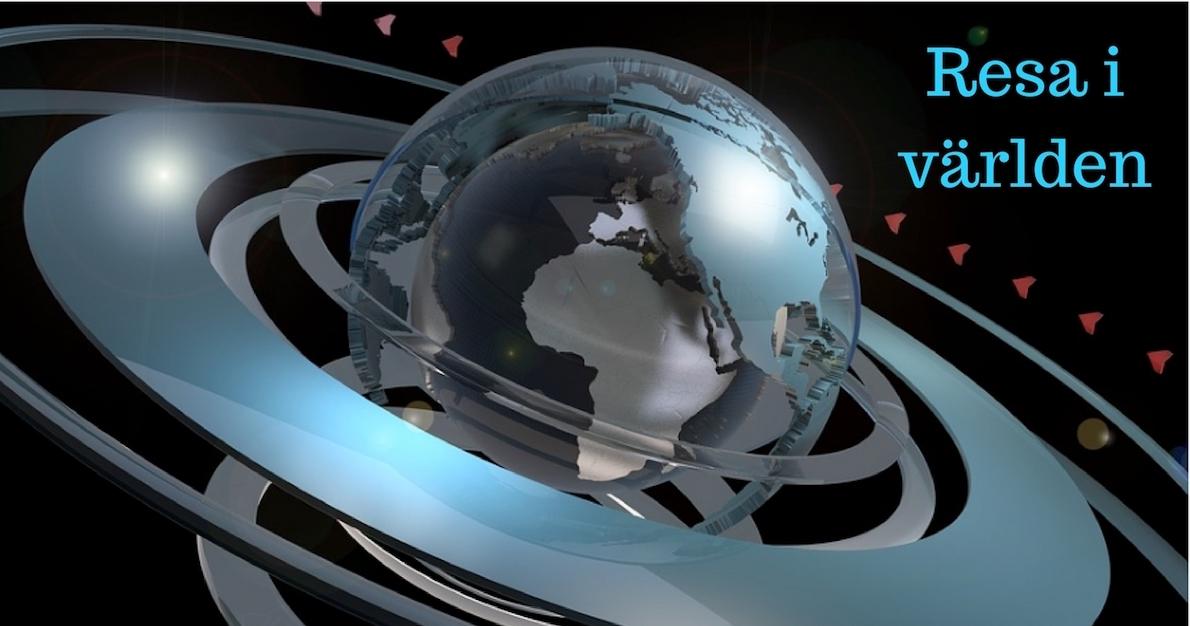 Utveckla bloggen med nya tjänsten resa i världen