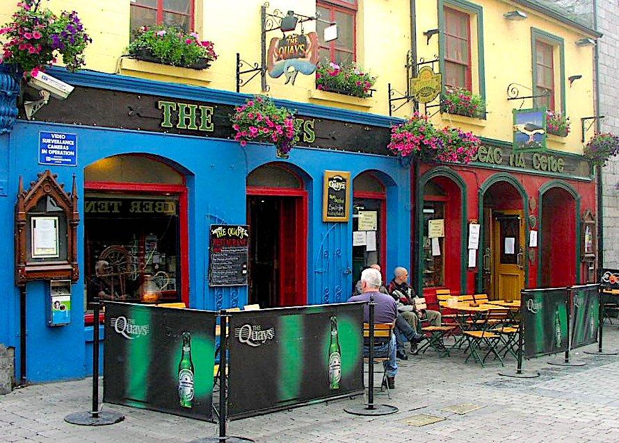 Öl på Irland