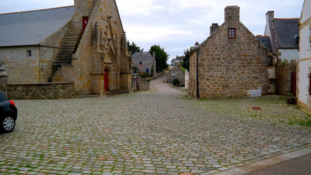 vägar i Bretagne