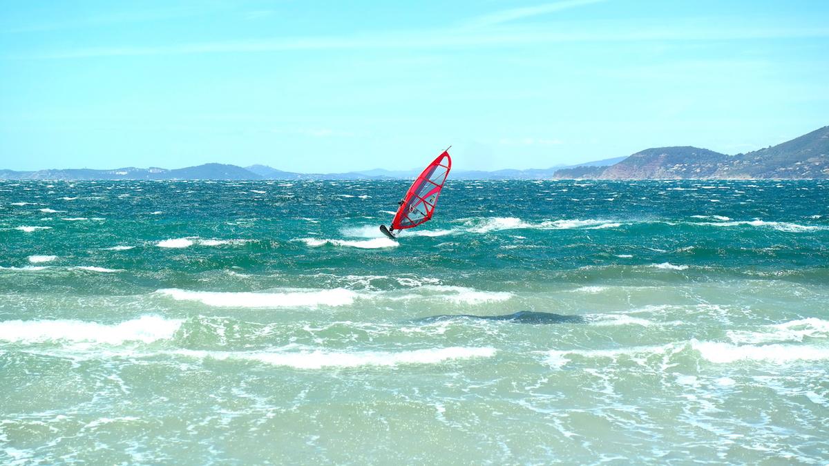 Kitesurfing I Giens