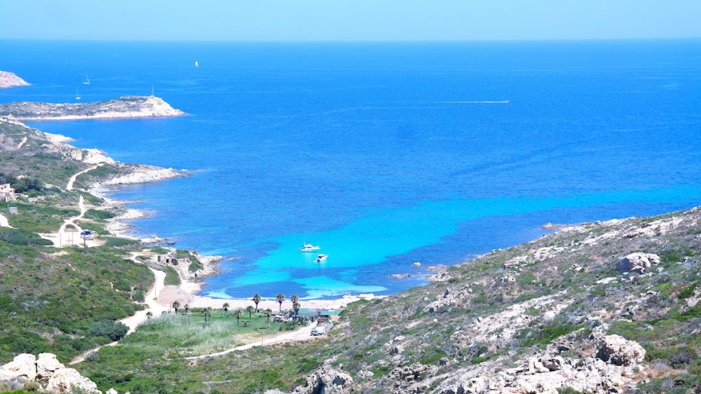 Calvi plage de l'Alga