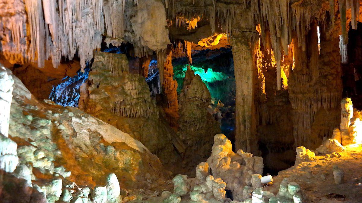 Italien, Sardinien, Grotta Di Nettuno
