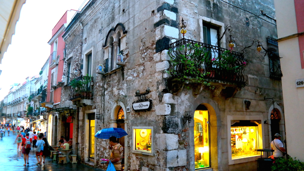 Italien, Sicilien, Taormina