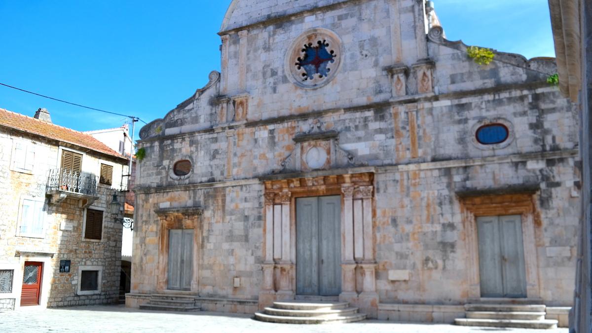 Kroatiens äldsta stad Stari Grad på ön Hvar