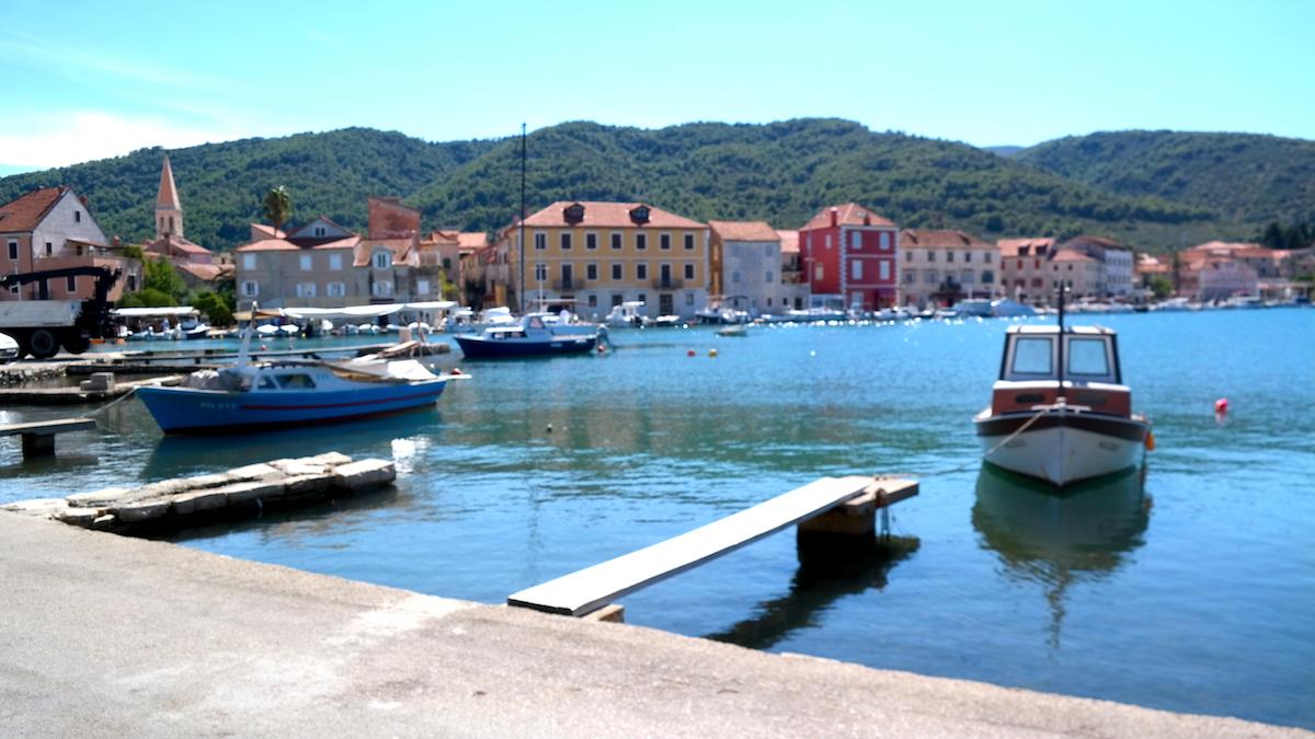 Stari Grad Hvar i Kroatien
