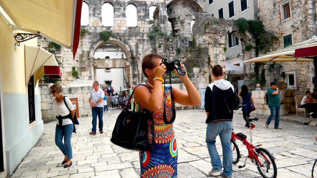 Historiska Kuststaden Split Kroatien