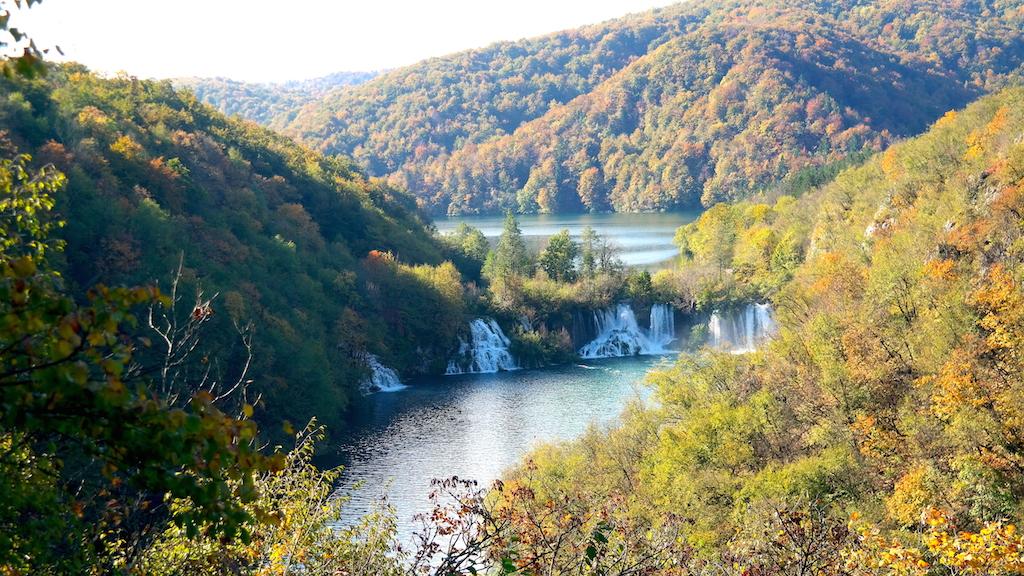 Plitvicesjöarna i Kroatien