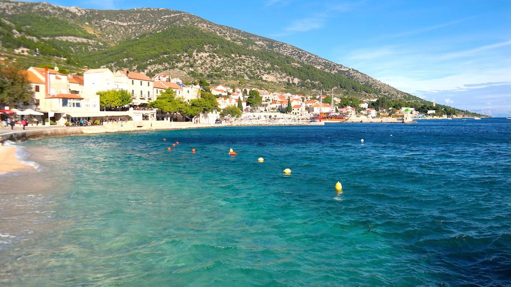 Byn Bol i Kroatien